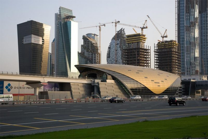 Dubai Metro (Aedas, architects). Image provided by Art on File.