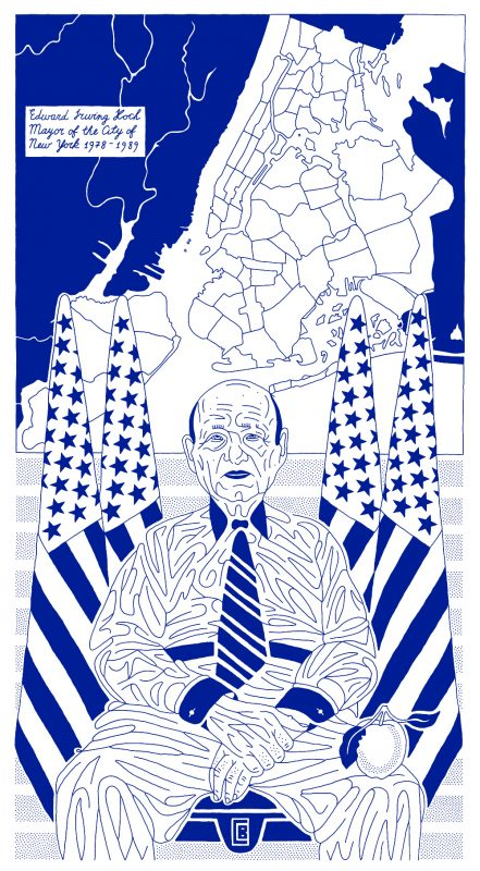 "Dmitry Borshch, ""Koch – Mayor of the City of New York"""