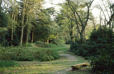 Landscape architect: Gertrude Jekyll, and architect: Edwin Lutyens, | Le Bois des Moutiers | Image and original data provided by the Foundation for Landscape Studies | © Elizabeth Barlow Rogers, Foundation for Landscape Studies