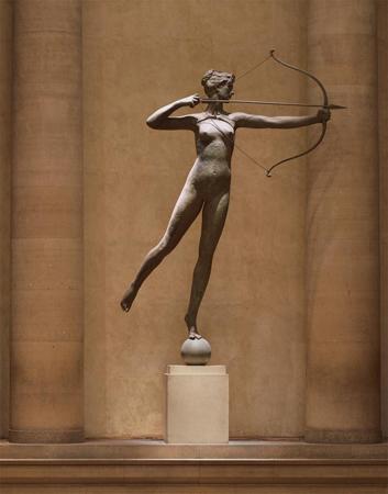 Augustus Saint-Gaudens. Diana, 1892-94. Philadelphia Museum of Art.
