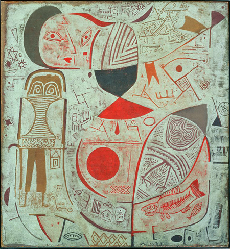 Paul Klee | Printed Sheet with Picture; 1937 | Image and original data provided by The Phillips Collection | © 2009 Artists Rights Society (ARS), New York / VG Bild-Kunst, Bonn