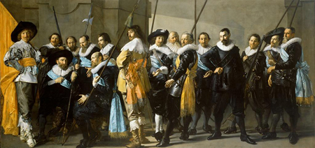 Frans Hals, Pieter Codde | Company of Captain Reinier Reael, known as the Meagre Company; 1637 | Image and original data provided by Rijksmuseum; rijksmuseum.nl