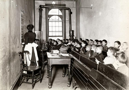 Jacob A. Riis | East Side Public Schools 1; ca. 1890 | Museum of the City of New York