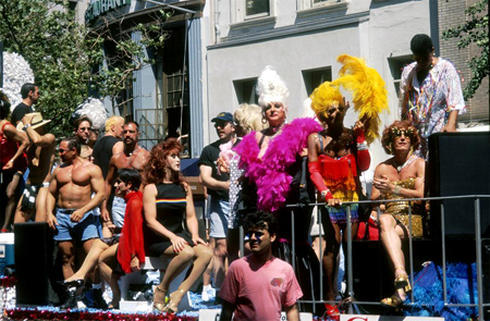 Larry Qualls | The 29th Annual Gay Pride March | 28 June, 1998 | New York City, NY | Image and original data provided by Larry Qualls