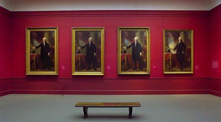 """Gilbert Stuart"" (October 21, 2004-January 16, 2005) | The Metropolitan Museum of Art: Exhibition Installation Photographs | Image and data from: The Metropolitan Museum of Art"