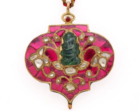 India | Necklace | 18th century | Image and original data courtesy of Shangri La, Doris Duke Foundation for Islamic Art