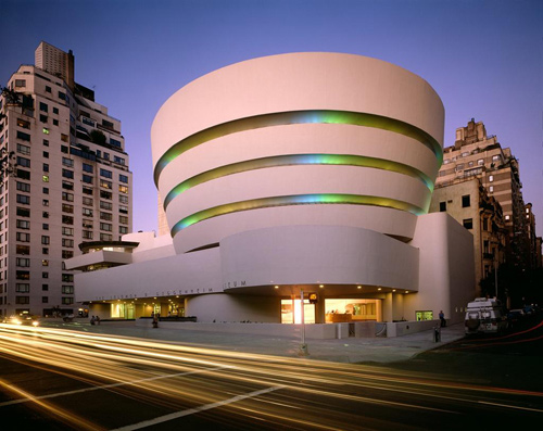 Frank Lloyd Wright | The Solomon R. Guggenheim Museum | Constructed 1956-1959 | New York, NY | Photographer: David Heald | Photograph: © The Solomon R. Guggenheim Foundation, New York | Work: © 2012 Frank Lloyd Wright Foundation / Artists Rights Society (ARS), New York