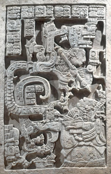 Maya   Yaxchilán lintel 25   Kerr Archive; mayavase.com