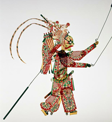 Chinese | Shadow puppet | late 19th-early 20th century | Seattle Art Museum