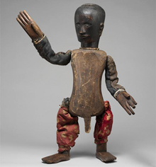Indonesia, Sumatra, Toba Batak | Puppet (Si Gale-gale) | Late 19th-early 20th century | Image © The Metropolitan Museum of Art