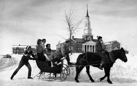 1952 Winter Carnival | Colbiana Photographs |  Colby College Special Collections, Waterville, Maine