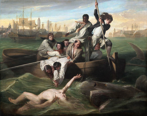 John Singleton Copley, Watson and the Shark, 1778. Image: Courtesy of National Gallery of Art, Washington
