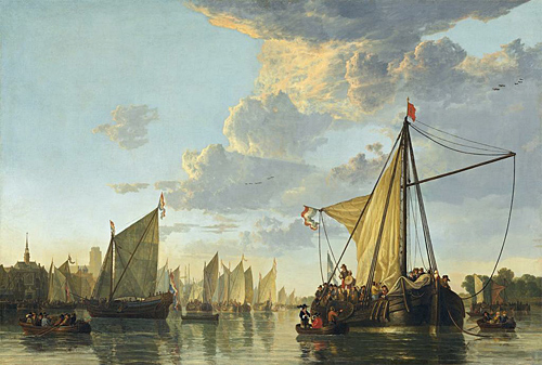 Aelbert Cuyp, The Maas at Dordrecht, 1650. Image: Courtesy of National Gallery of Art, Washington