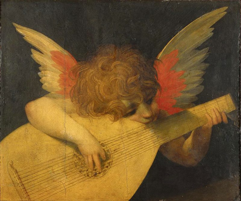 Famous Renaissance Art Angel Painting