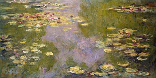 Claude Monet, Water Lilies, 1919. Image © The Metropolitan Museum of Art