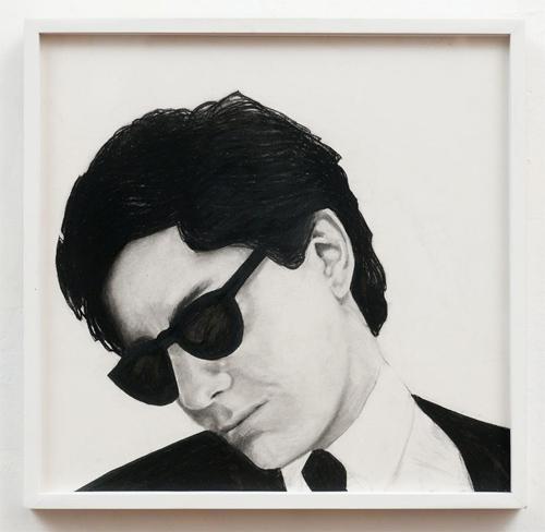 Work: Robert Longo, Portrait of Jeffrey, 1980, © 2012 Artists Rights Society (ARS), New York; Image: D. James Dee.