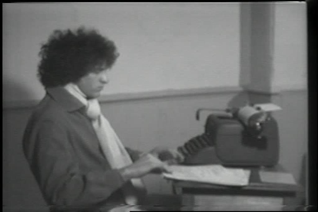Jacki Apple & Martine Aballea, Artists Reading, 1977