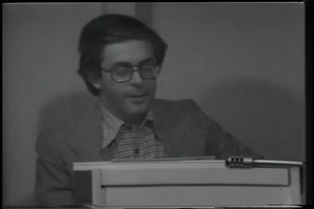 Les Levine, Artists Reading, 1976. © 2012 Les Levine / Artists Rights Society (ARS), New York, Moving image and original data provided by Franklin Furnace Archive, Inc.; franklinfurnace.org