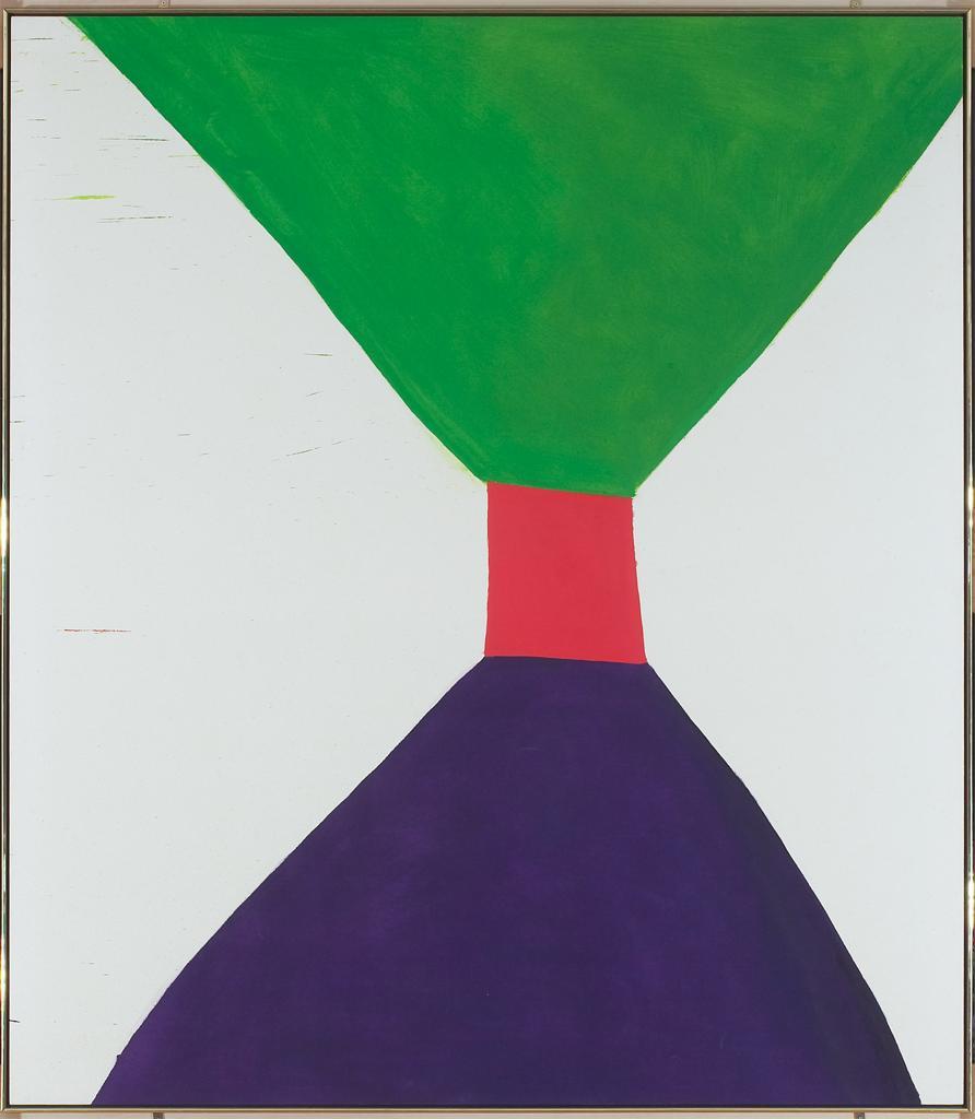 Jack Bush, Green and Purple, 1963