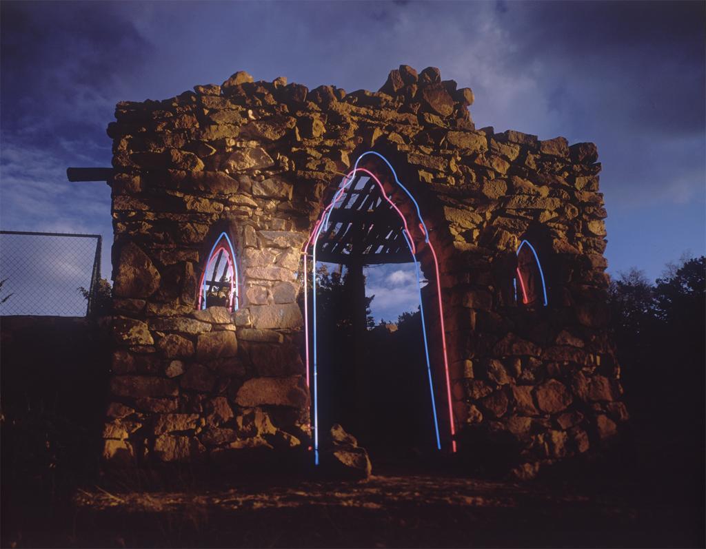 Donald Woodman, Shrines--El Oratario de Lorenzo Lopez Chapel, 2007