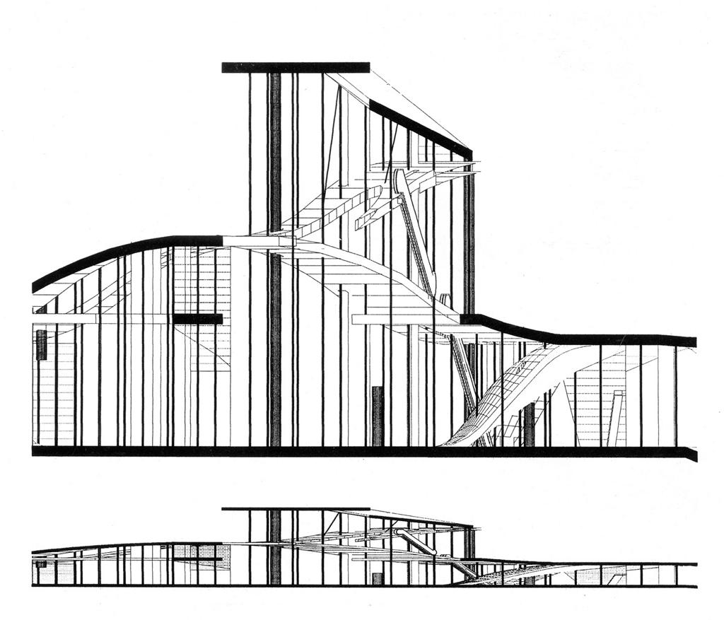 Rem D. Koolhaas, Two Libraries for Jussieu University