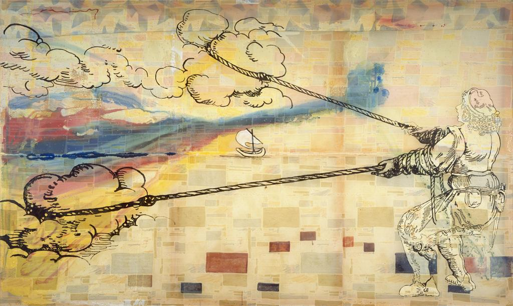 Sigmar Polke, Hope is: Wanting to Pull Clouds, 1992. © 2012 Artists Rights Society (ARS), New York / BILDKUNST, Bonn. Image: Courtesy of National Gallery of Art, Washington