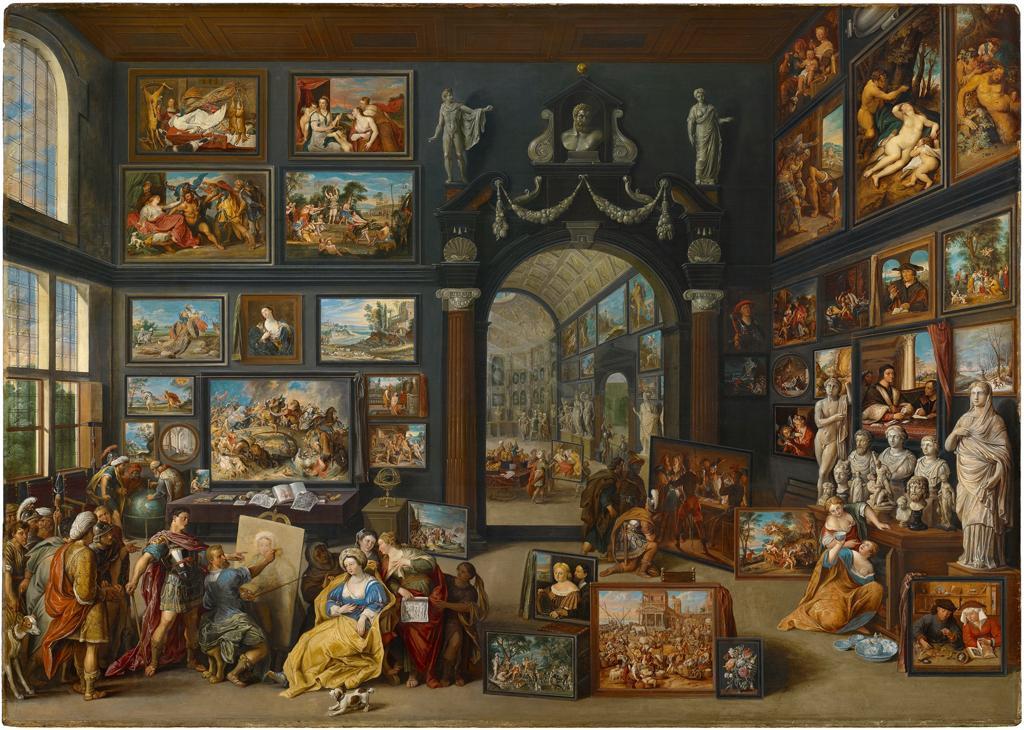 Willem van Haecht, Apelles Painting Campaspe, c.1630