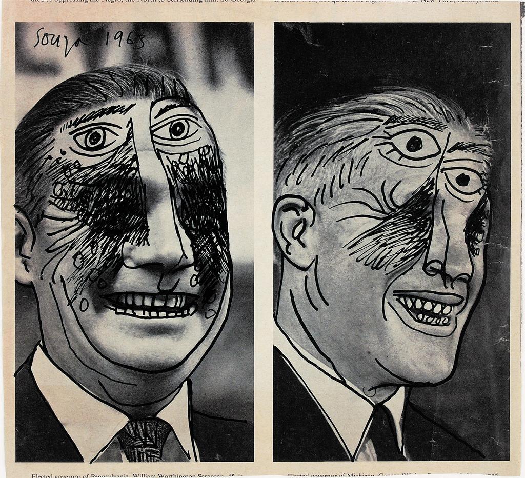 Francis Newton Souza, Untitled, 1963. © Estate of F.N. Souza © 2014 Artists Rights Society (ARS), New York / DACS