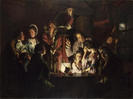 Joseph Wright of Derby, An Experiment on a Bird in the Air Pump, 1768. The National Gallery, London