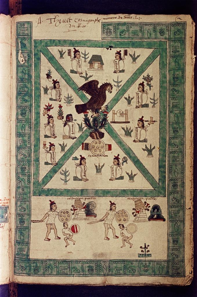 The Codex Mendoza, early 1540s