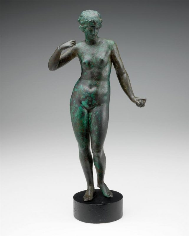 Unknown artist (Greek); Aphrodite; 2nd century. Image © Museum of Art, Rhode Island School of Design, Providence