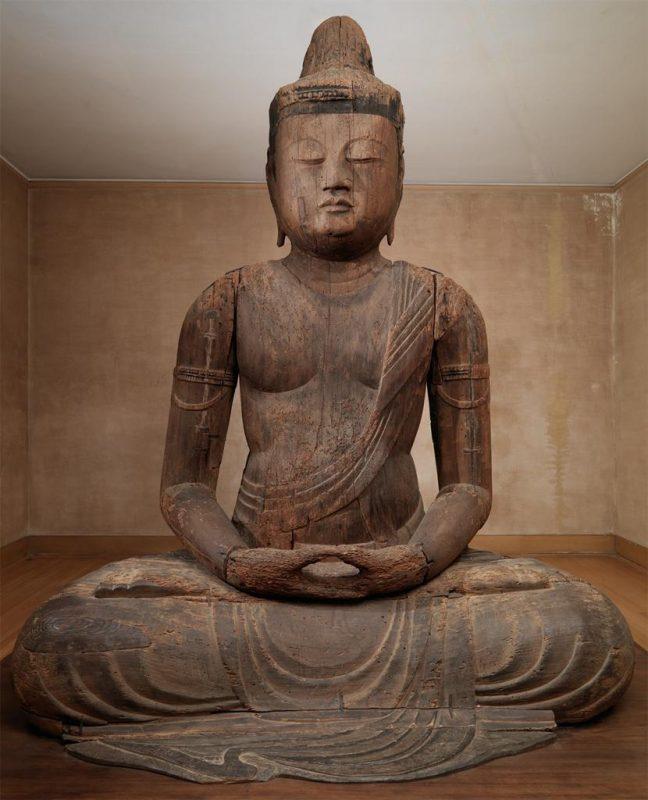 Unknown artist (Japanese); Buddha Mahavairocana (Dainichi Nyorai); ca. 1150-1200. Image © Museum of Art, Rhode Island School of Design, Providence