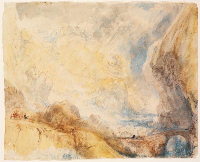Joseph Mallord William Turner; Dazio Grande; 1842. Image © Museum of Art, Rhode Island School of Design, Providence
