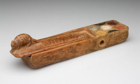 Egyptian; Paint box, 1302-1070 BCE. Image © Museum of Art, Rhode Island School of Design, Providence