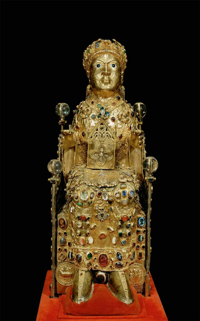 Reliquary of Sainte-Foy, ca. 1000