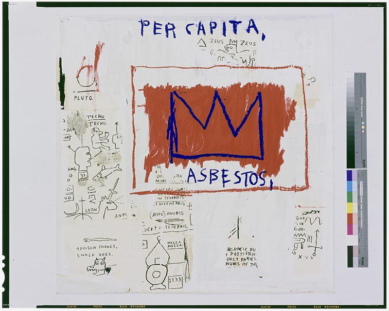 Jean-Michel Basquiat, Per Capita, 1982