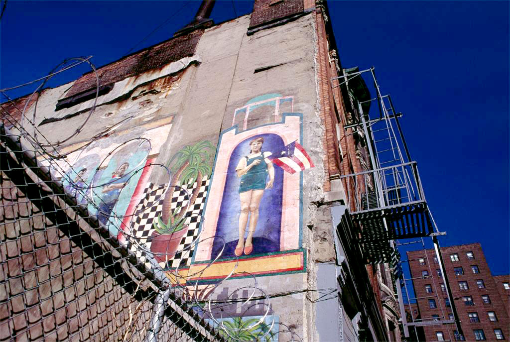 Title: Mural, 353 East 4th St between Aves C& D; Image ID: A