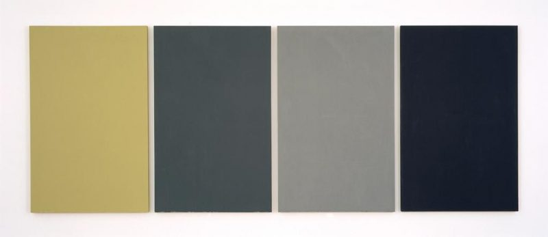 Brice Marden; The Seasons; 1974-1975. Image and original data provided by The Menil Collection, Houston; © 2014 Brice Marden / Artists Rights Society (ARS), New York