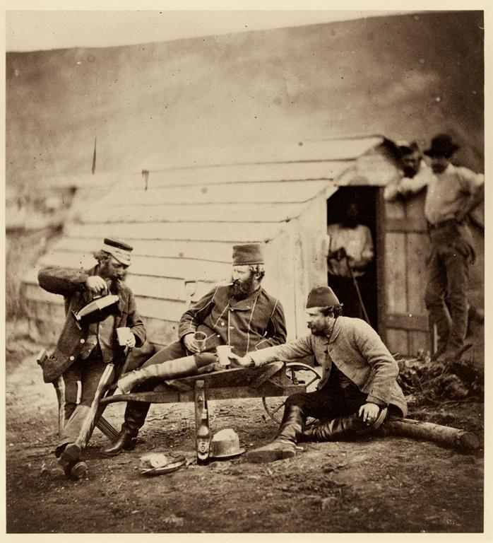 Roger Fenton, Hardships in the Camp, 1855. Image courtesy of George Eastman House www.eastmanhouse.org