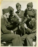 Rusty Gizmo enjoying some company, 1944