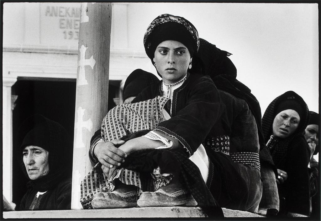 Constantine Manos, Watching the dance, Olympos, Karpathos