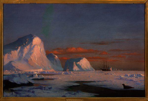 William Bradford, Arctic Sunset, 1874