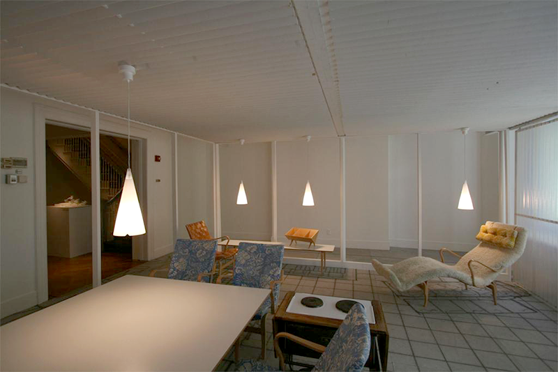 Bruno Mathsson: Architect and Designer, Installation view; 2007. Image and original data contributed by Bard Graduate Center Gallery