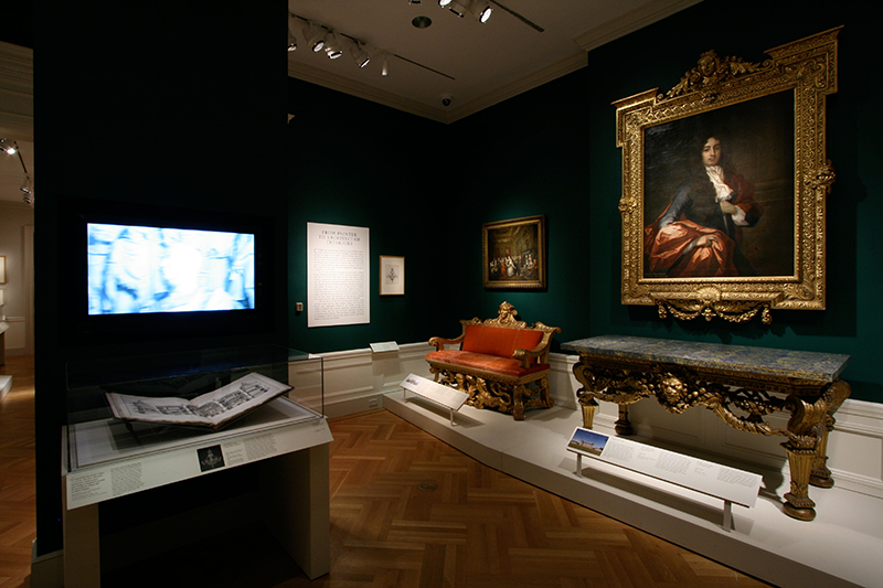 William Kent: Designing Georgian Britain, Installation view; 2013-2014. Image and original data contributed by Bard Graduate Center Gallery