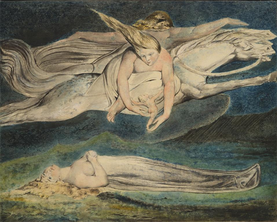 William Blake; Pity; ca. 1795. Image © The Metropolitan Museum of Art