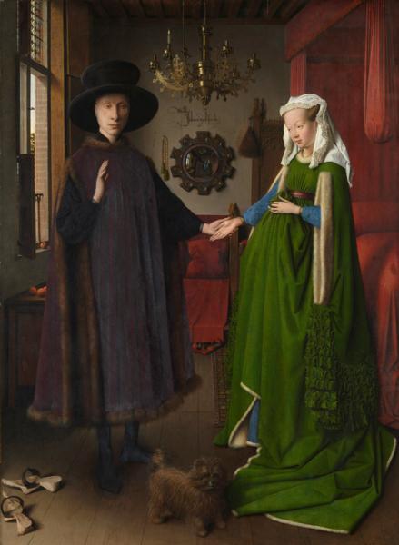 Arnolfini wedding, jan van eyck