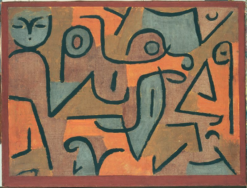 Paul Klee. Young Moe. 1938. Image and original data provided by The Phillips Collection. © 2009 Artists Rights Society (ARS), New York / VG Bild-Kunst, Bonn