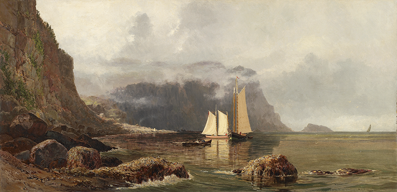 Lucius Richard O'Brien. Northern Head of Grand Manan. 1879. Image and original data provided by the Art Gallery of Ontario | ago.net