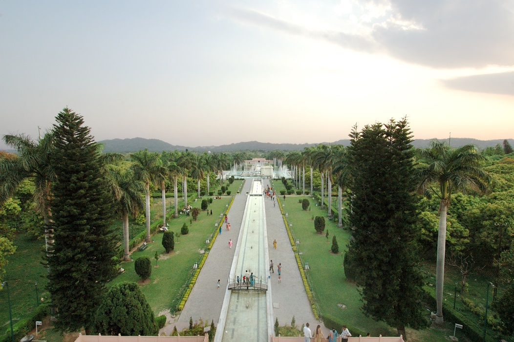 Pinjore, Panchkula, Haryana, India. Mughal Garden. 1658-1707. Image and data provided by American Institute of Indian Studies. Photographer: D.P. Nanda.