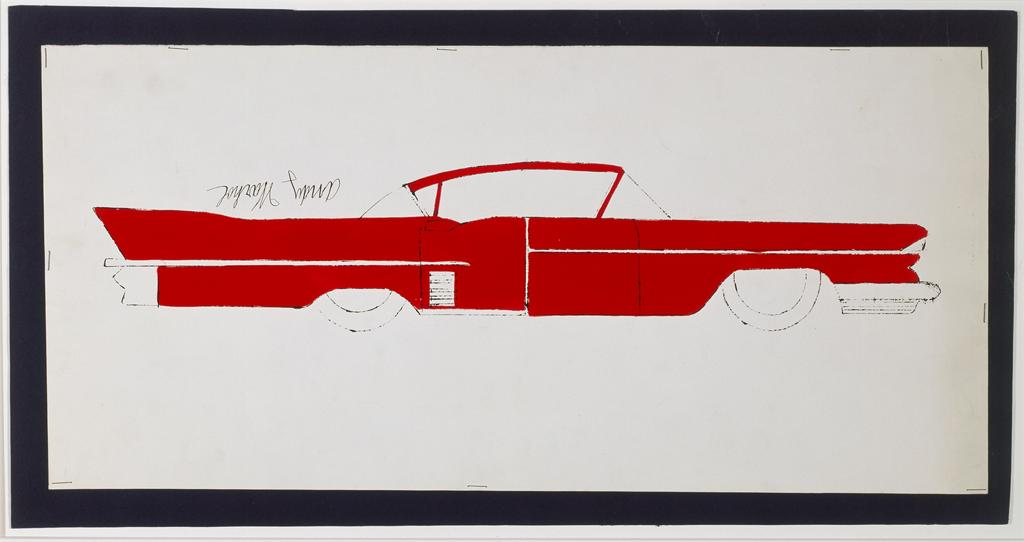 Andy Warhol. Car. Artwork and Image © The Andy Warhol Foundation for the Visual Arts, Inc.